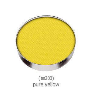 Yaby Eyeshadow REFILL - Pure Yellow - matte ES283 | Camera Ready Cosmetics - 46