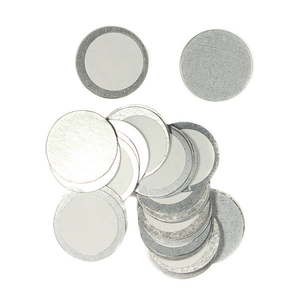 Z palette round metal stickers camera ready cosmetics