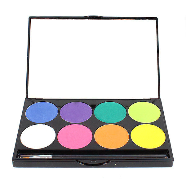 Mehron INtense Pro Pressed Powder Pigments Palette - Fire (168-PAL-F) | Camera Ready Cosmetics - 4