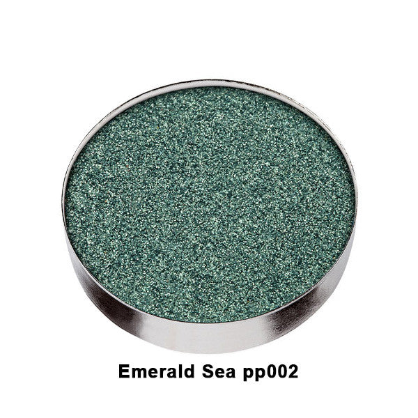Yaby World of Pearl Paint Palette REFILL - Emerald Sea PP002 | Camera Ready Cosmetics - 19