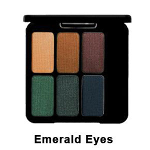 Eve Pearl The Eye Palette - Emerald Eyes EYPAL-EM | Camera Ready Cosmetics - 2