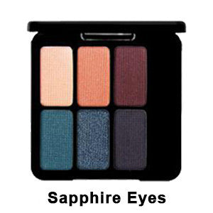 Eve Pearl The Eye Palette - Sapphire Eyes EYPAL-SA | Camera Ready Cosmetics - 4