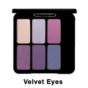 Eve Pearl The Eye Palette - Velvet Eyes EYPAL-VL | Camera Ready Cosmetics - 5