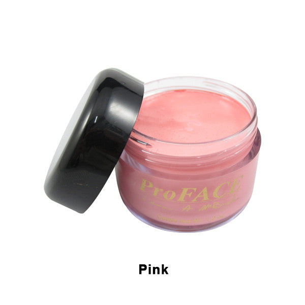 Mehron ProFACE Clown Base - Pink / 1.2oz | Camera Ready Cosmetics - 8