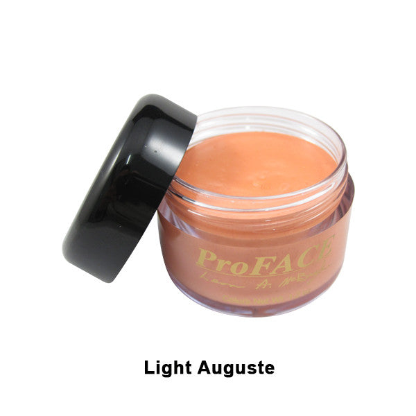 Mehron ProFACE Clown Base - Light Auguste / 1.2oz | Camera Ready Cosmetics - 7