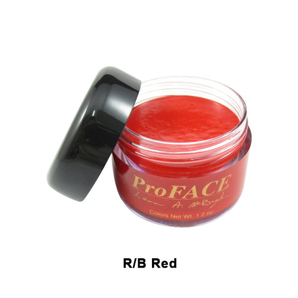 Mehron ProFACE Clown Base - R/B Red / 1.2oz | Camera Ready Cosmetics - 9