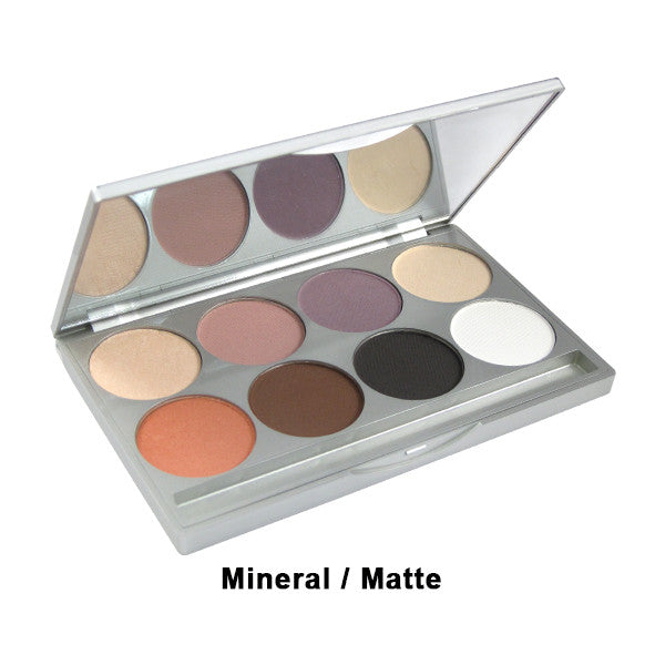 Graftobian Eye Shadow Palette (Limited Quantity) - Mineral/Matte Combo 8-Color Palette (30500) | Camera Ready Cosmetics - 6