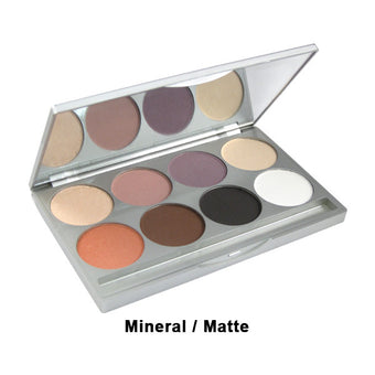 alt Graftobian Eye Shadow Palette Mineral/Matte Combo 8-Color Palette (30500)