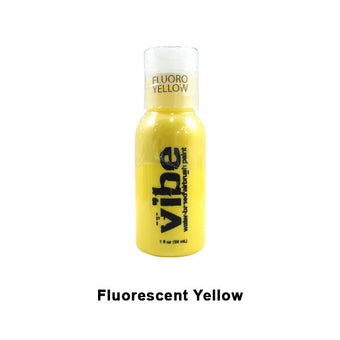 European Body Art Vibe Airbrush Liquids - Fluorescent Yellow | Camera Ready Cosmetics - 9