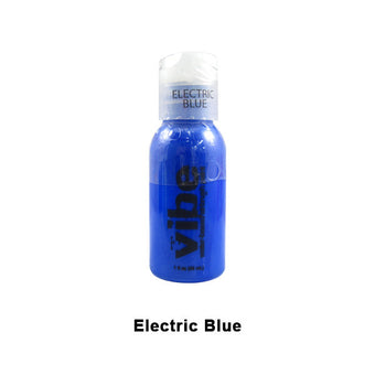 European Body Art Vibe Airbrush Liquids - Electric Blue | Camera Ready Cosmetics - 6
