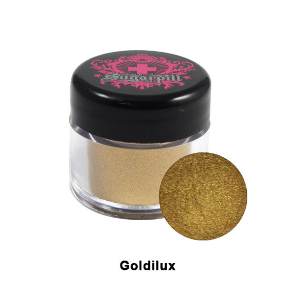 Sugarpill ChromaLust Loose Eyeshadow - Goldilux | Camera Ready Cosmetics - 14