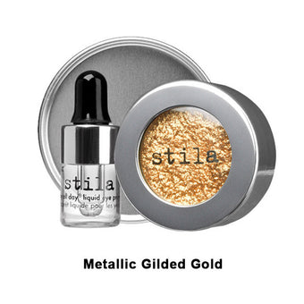 Stila Magnificent Metals Foil Finish Eye Shadow - Metallic Gilded Gold (LIMITED AVAILABILITY) | Camera Ready Cosmetics - 10