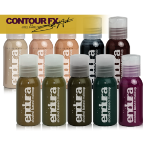 alt European Body Art - Endura Contour FX by Joel Harlow 10-Pack 1oz.