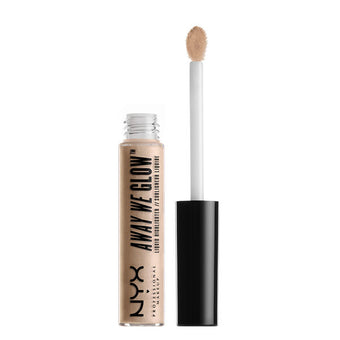 alt NYX Away We Glow Liquid Highlighter Crystal Glare–AWG04