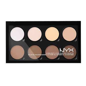 NYX - Highlight and Contour Pro Palette  | Camera Ready Cosmetics