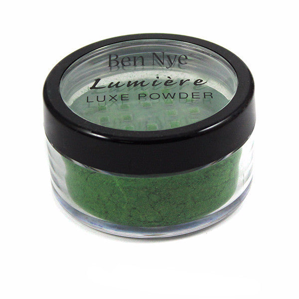 Ben Nye Luxe Powder - Chartreuse (LX-8) | Camera Ready Cosmetics - 7