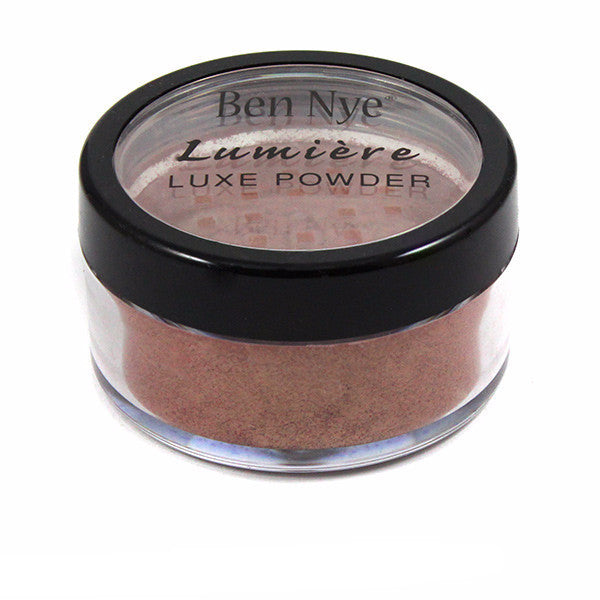 Ben Nye Luxe Powder - Golden Apricot (LX-18) | Camera Ready Cosmetics - 11