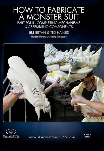 alt Stan Winston Studios | How to Fabricate a Monster Suit Part 4 - Completing Mechanisms & Assembling Components
