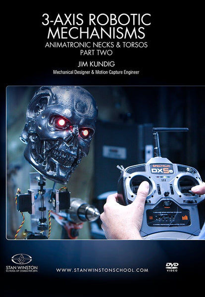 alt Stan Winston Studios | 3-Axis Robotic Mechanisms Animatronic Necks & Torsos Part 2