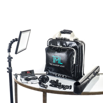 THE MAKEUP LIGHT -  KEY LIGHT PRO KIT (USA ONLY) - Onyx | Camera Ready Cosmetics - 4