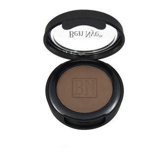 alt Ben Nye Pressed Eye Shadow (Full Size) Dark Brown (ES-54)