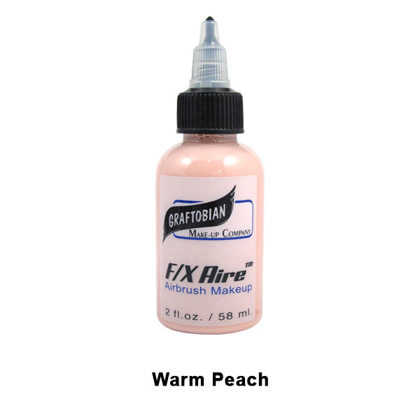 Graftobian F/X Aire Airbrush Makeup - Warm Peach (28088) | Camera Ready Cosmetics - 46
