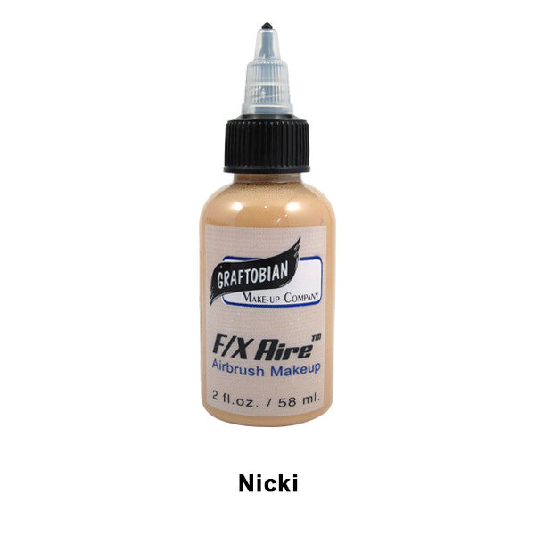 Graftobian F/X Aire Airbrush Makeup - Nicki - Golden Tan (28176) | Camera Ready Cosmetics - 30