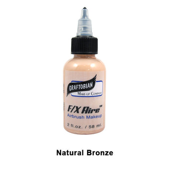 Graftobian F/X Aire Airbrush Makeup - Natural Bronze (28100) | Camera Ready Cosmetics - 28