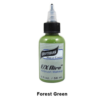 Graftobian F/X Aire Airbrush Makeup - Forest Green (28029) | Camera Ready Cosmetics - 18