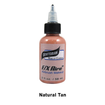 alt Graftobian F/X Aire Airbrush Makeup Natural Tan (28064)