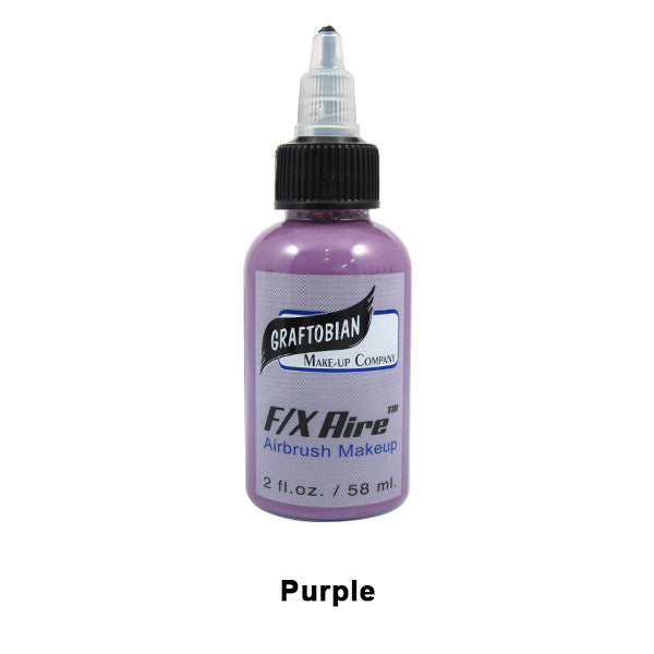 Graftobian F/X Aire Airbrush Makeup - Purple (28011) | Camera Ready Cosmetics - 35