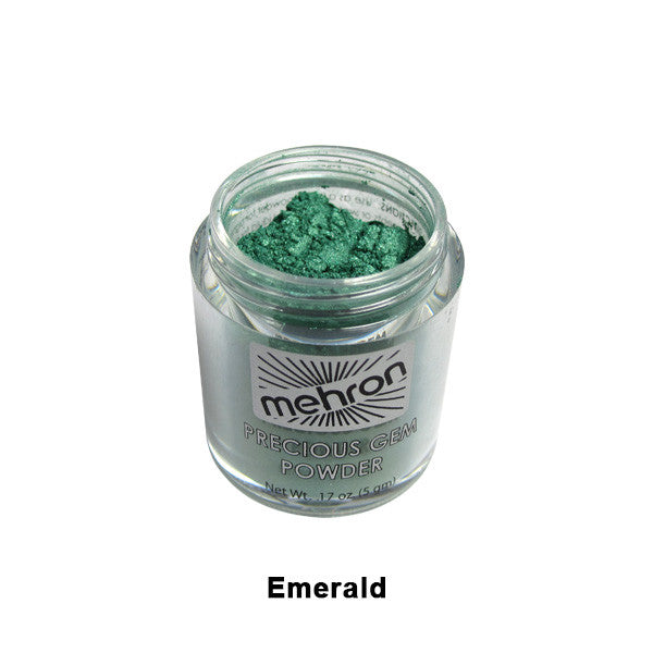 Mehron Celebre Precious Gem Powder - Emerald (203-EM) | Camera Ready Cosmetics - 10