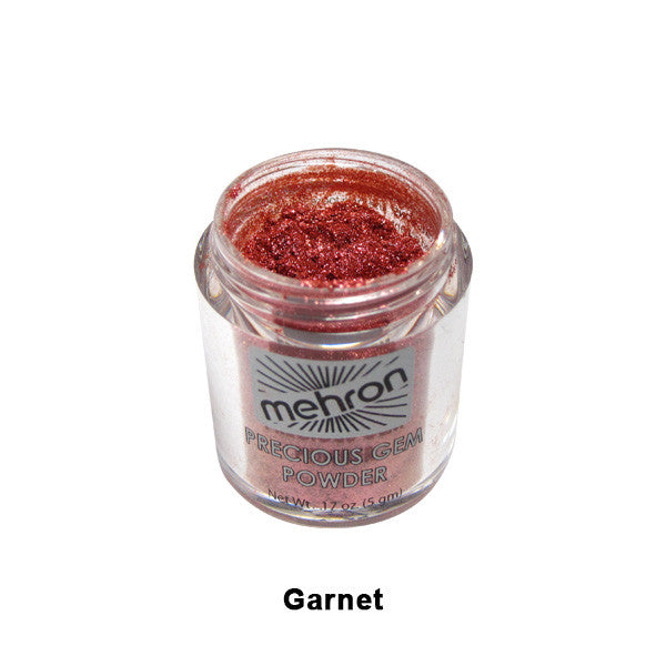 Mehron Celebre Precious Gem Powder - Garnet (203-GT) | Camera Ready Cosmetics - 11