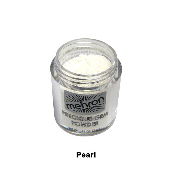 Mehron Celebre Precious Gem Powder - Pearl (203-PR) | Camera Ready Cosmetics - 14