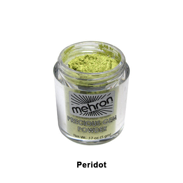 Mehron Celebre Precious Gem Powder - Peridot (203-PD) | Camera Ready Cosmetics - 15