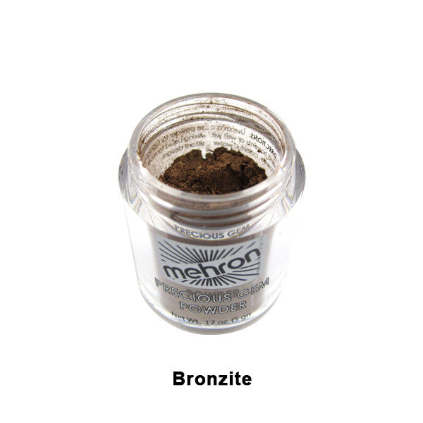 Mehron Celebre Precious Gem Powder - Bronzite (203-BZ) | Camera Ready Cosmetics - 6