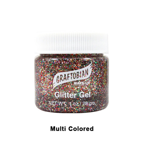 Graftobian Glitter Gel For Skin 1oz.  | Camera Ready Cosmetics