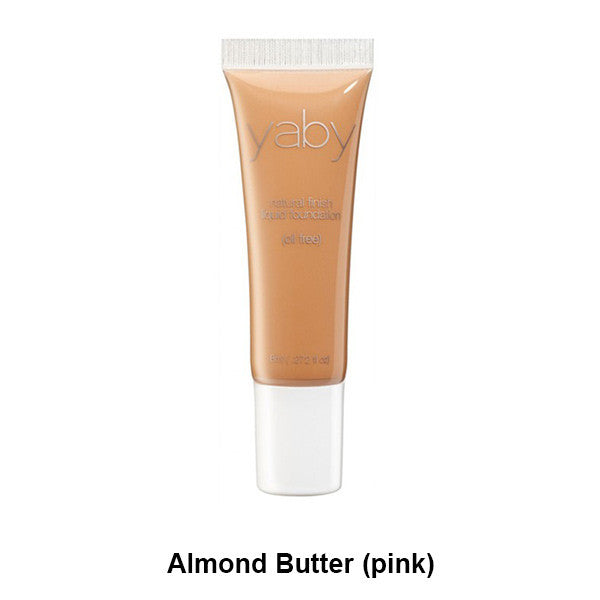 Yaby Liquid Foundation - Almond Butter (pink) | Camera Ready Cosmetics - 2