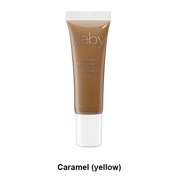 Yaby Liquid Foundation - Caramel (yellow) | Camera Ready Cosmetics - 8