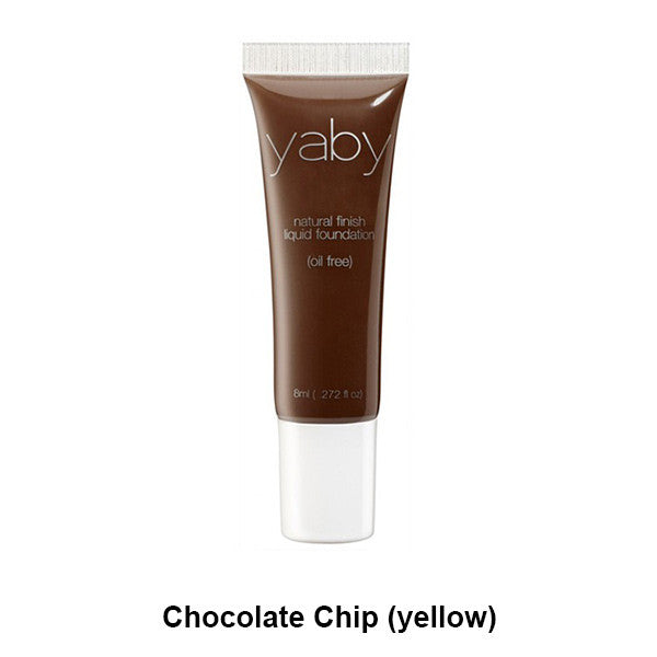 Yaby Liquid Foundation - Chocolate Chip (yellow) | Camera Ready Cosmetics - 10