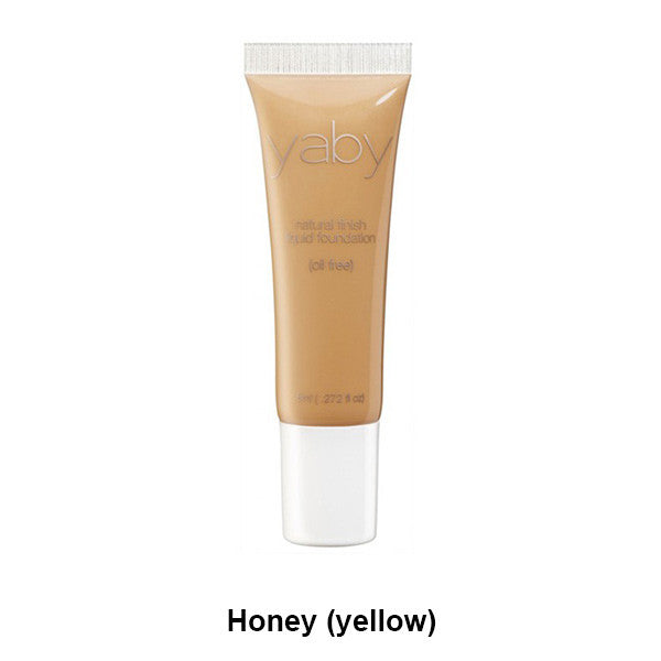 Yaby Liquid Foundation - Honey (yellow) | Camera Ready Cosmetics - 14