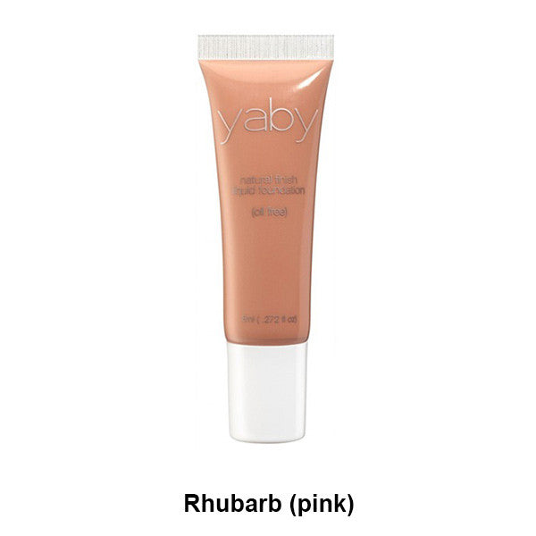 Yaby Liquid Foundation - Rhubarb (pink) | Camera Ready Cosmetics - 20