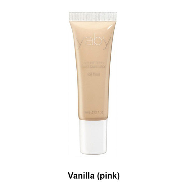 Yaby Liquid Foundation - Vanilla (pink) | Camera Ready Cosmetics - 21