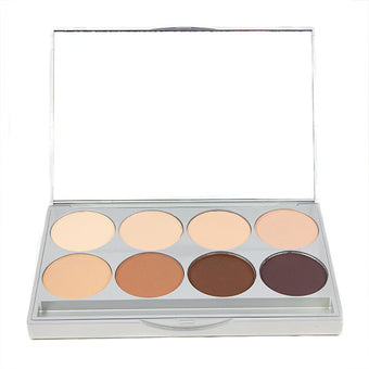Graftobian HD Pro POWDER Palette - Cool (30232) | Camera Ready Cosmetics - 2