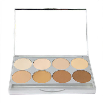 Graftobian HD Pro POWDER Palette - Neutral (30231) | Camera Ready Cosmetics - 4