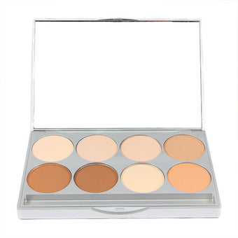 Graftobian HD Pro POWDER Palette - Warm (30230) | Camera Ready Cosmetics - 5