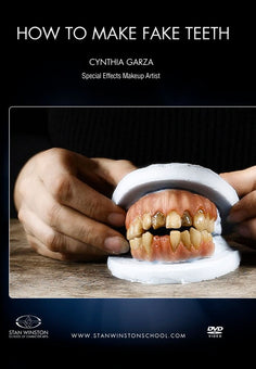 alt Stan Winston Studios | How To Make Fake Teeth