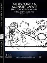 alt Storyboard A Monster Movie - Traditional Techniques