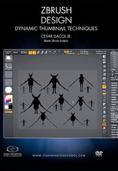 alt Zbrush Design - Dynamic Thumbnail Techniques