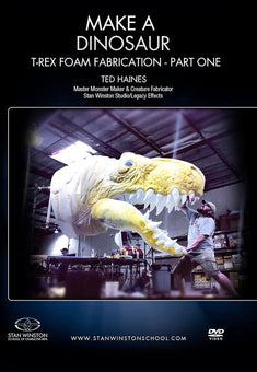 alt Stan Winston Studios | Make a Dinosaur - T-Rex Foam Fabrication Part 1